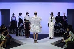Κλιμακωτή επίδειξη μόδας Στοκ Φωτογραφία