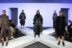 Κλιμακωτή επίδειξη μόδας Στοκ Εικόνα