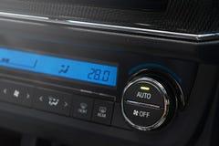 Κλιματιστικό μηχάνημα στο αυτοκίνητο Στοκ Εικόνα