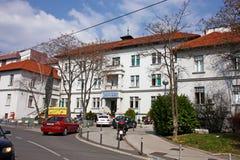 Κλινικό ιερό πνεύμα νοσοκομείων, Ζάγκρεμπ στοκ εικόνα