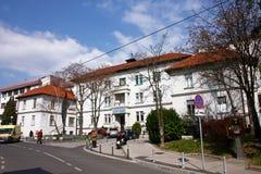 Κλινικό ιερό πνεύμα νοσοκομείων, Ζάγκρεμπ στοκ φωτογραφία