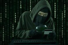 Κλοπή πιστωτικών καρτών στοκ φωτογραφίες