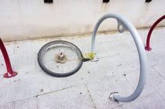 Κλοπή ποδηλάτων στοκ εικόνες