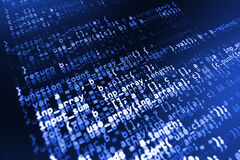 Κλοπή στοιχείων χάκερ ιός υπολογιστών Στοκ Φωτογραφίες
