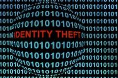 Κλοπή ταυτότητας στο κόκκινο στοκ φωτογραφίες