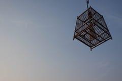 Κλουβί πουλιών Στοκ φωτογραφίες με δικαίωμα ελεύθερης χρήσης