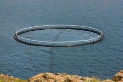 Κλουβί ψαριών Στοκ εικόνες με δικαίωμα ελεύθερης χρήσης