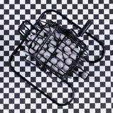 Κλουβί Bingo για το παιχνίδι Bingo Στοκ εικόνα με δικαίωμα ελεύθερης χρήσης