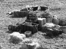 Κλουβιά αστακών στο Devon στοκ εικόνα με δικαίωμα ελεύθερης χρήσης
