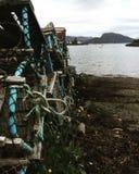 Κλουβιά αστακών Στοκ εικόνα με δικαίωμα ελεύθερης χρήσης