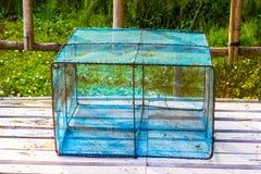 Κλουβιά παγίδων ψαριών στοκ φωτογραφία με δικαίωμα ελεύθερης χρήσης