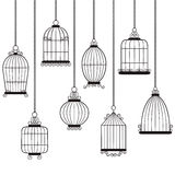 Κλουβιά πουλιών Στοκ εικόνες με δικαίωμα ελεύθερης χρήσης