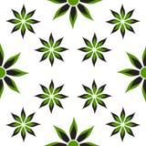 Κλωστοϋφαντουργικά προϊόντα σχεδίων λουλουδιών Διανυσματική απεικόνιση