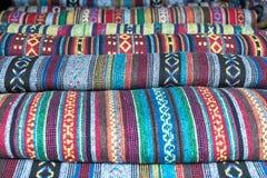 Κλωστοϋφαντουργικό προϊόν καλυμμάτων Hmong Στοκ φωτογραφία με δικαίωμα ελεύθερης χρήσης