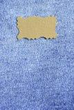 Κλωστοϋφαντουργικό προϊόν τζιν παντελόνι Στοκ Φωτογραφίες