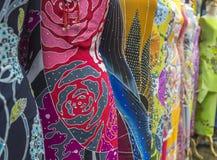 Κλωστοϋφαντουργικό προϊόν Batique Στοκ εικόνα με δικαίωμα ελεύθερης χρήσης