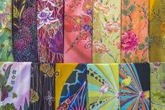 Κλωστοϋφαντουργικό προϊόν Batique Στοκ φωτογραφία με δικαίωμα ελεύθερης χρήσης