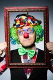 κλόουν αστείος Στοκ φωτογραφία με δικαίωμα ελεύθερης χρήσης