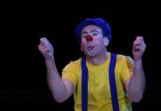 κλόουν τσίρκων Στοκ φωτογραφία με δικαίωμα ελεύθερης χρήσης