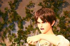 Κλώνος-oid-μην κλωνοποιήστε της Ellen jaeger από Shingeki κανένα Kyojin Στοκ φωτογραφία με δικαίωμα ελεύθερης χρήσης