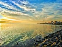 Κ cekmece λίμνη, Κωνσταντινούπολη, Τουρκία στοκ εικόνα με δικαίωμα ελεύθερης χρήσης