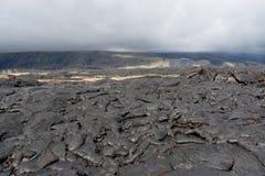 λάβα πεδίων ηφαιστειακή Στοκ Φωτογραφίες