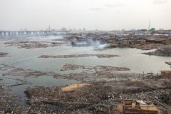 Λάγκος Νιγηρία στοκ φωτογραφίες