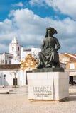 ΛΆΓΚΟΣ, ΠΟΡΤΟΓΑΛΙΑ - ΤΟΝ ΑΠΡΊΛΙΟ ΤΟΥ 2018 CIRCA: Άγαλμα των DOM Henriq ινφαντών Στοκ εικόνες με δικαίωμα ελεύθερης χρήσης