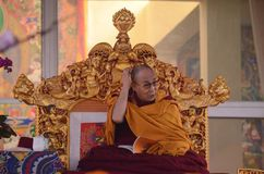 Λάμα Dalai Holiness σε Bodhgaya, Ινδία Στοκ εικόνες με δικαίωμα ελεύθερης χρήσης