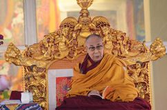 Λάμα Dalai Holiness σε Bodhgaya, Ινδία Στοκ φωτογραφία με δικαίωμα ελεύθερης χρήσης