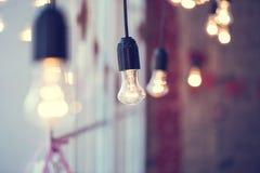 Λάμπα φωτός γιρλαντών Iful στοκ εικόνες
