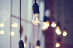 Λάμπα φωτός γιρλαντών Iful στοκ εικόνα