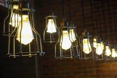 Λάμπα φωτός και διακόσμηση Στοκ Εικόνες