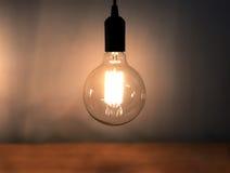 Λάμπα φωτός ντεκόρ ινών Στοκ Φωτογραφίες