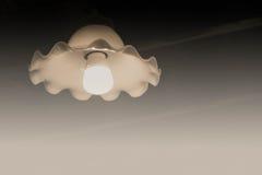 Λάμπα φωτός στο σκοτάδι Στοκ Εικόνες