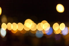 Λάμπα φωτός Bokhe Στοκ εικόνα με δικαίωμα ελεύθερης χρήσης