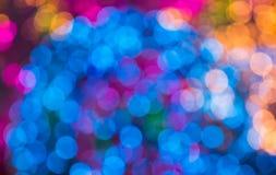 Λάμπες φωτός πολύ χρώμα Στοκ Εικόνα