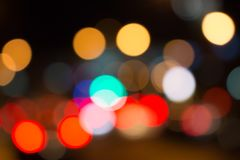 Λάμπες φωτός πολύ χρώμα Στοκ Φωτογραφίες