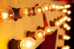 Λάμπες φωτός Στοκ φωτογραφία με δικαίωμα ελεύθερης χρήσης