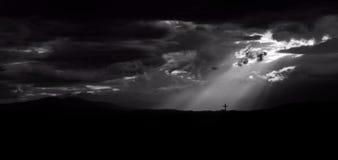 Λάμποντας ένα φως στην πίστη στοκ εικόνες