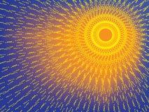 λάμποντας ήλιος διανυσματική απεικόνιση
