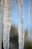 Λάμποντας πάγος Στοκ φωτογραφίες με δικαίωμα ελεύθερης χρήσης