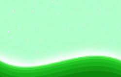 Λάμποντας πράσινο υπόβαθρο τέχνης μορφής λόφων Στοκ Εικόνες