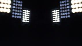 Λάμποντας προβολείς, ομαλή μετακίνηση του φωτός απόθεμα βίντεο