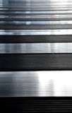 λάμποντας τοίχος σύστασης μετάλλων Στοκ εικόνες με δικαίωμα ελεύθερης χρήσης
