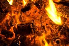 λάμψεις πυρών προσκόπων Στοκ φωτογραφία με δικαίωμα ελεύθερης χρήσης