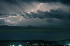 Λάμψη αστραπής Στοκ Φωτογραφία