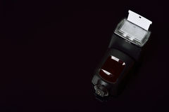 Λάμψη καμερών, εστίαση στον ανακλαστήρα Στοκ Εικόνες