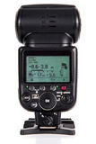 Λάμψη Speedlight φωτογραφικών μηχανών Στοκ εικόνες με δικαίωμα ελεύθερης χρήσης