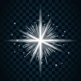 Λάμψτε εικονίδιο σπινθηρίσματος αστεριών 16a απεικόνιση αποθεμάτων